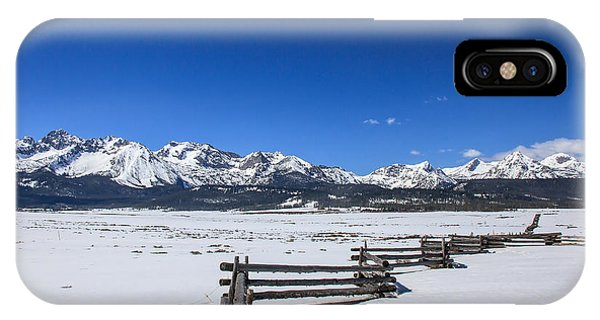 Spring View Of The Sawtooth Mountains IPhone Case