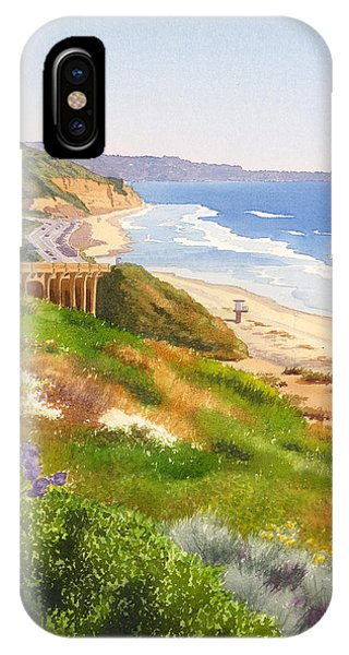 Spring View Of Torrey Pines IPhone Case