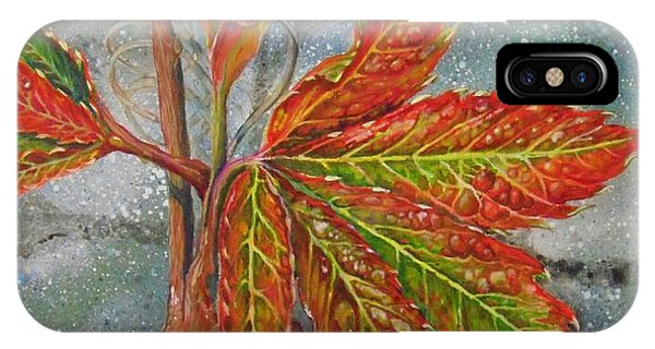 Spring Virginia Creeper IPhone Case