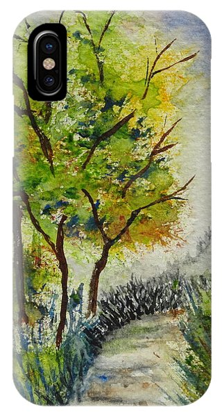 Spring Walk Phone Case by Catherine Arcolio