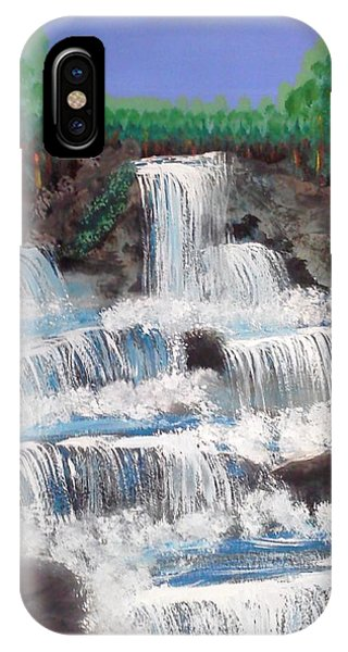Spring Waterfall IPhone Case