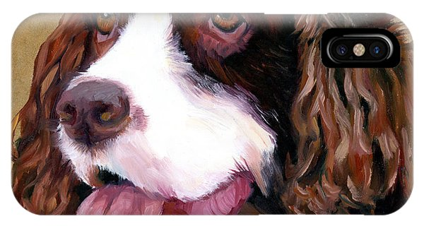 Springer Spaniel Dog IPhone Case