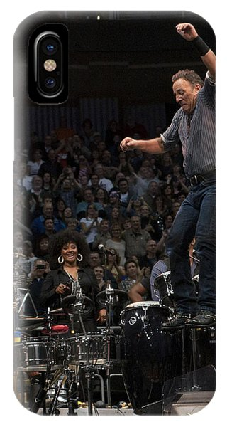 Springsteen In Motion IPhone Case
