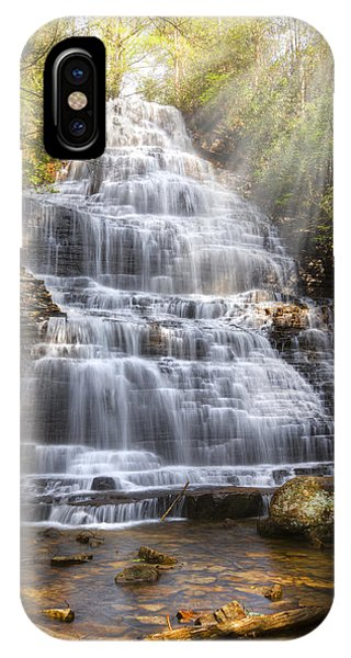 Chilhowee iPhone Case - Springtime At Benton Falls by Debra and Dave Vanderlaan