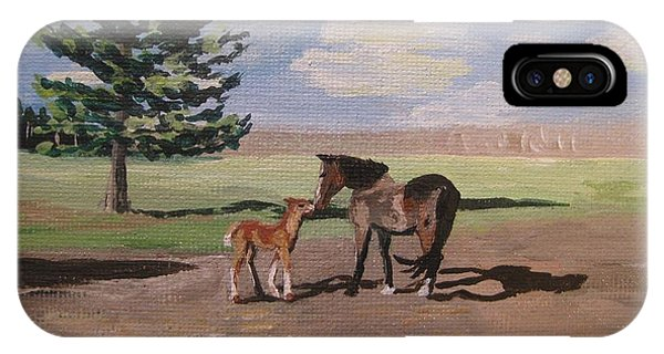 Springtime Foal IPhone Case