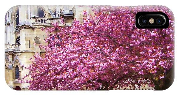 Springtime In Paris IPhone Case