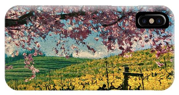 Mustard iPhone Case - Springtime In Pink by John K Woodruff