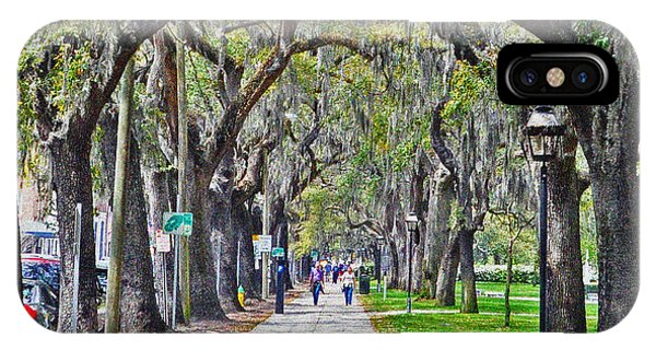 Springtime In Savannah IPhone Case