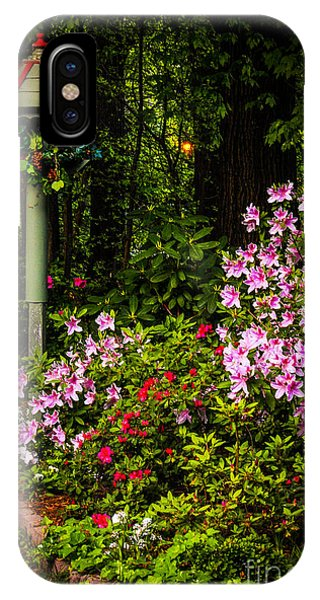 IPhone Case featuring the photograph Springtime In The Garden  by Ola Allen