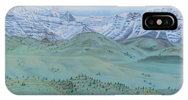 Springtime In The Rockies IPhone Case