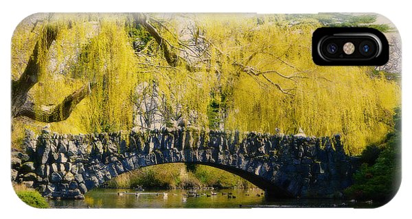 Springtime In Victoria IPhone Case