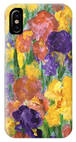 Springtime Iris IPhone Case
