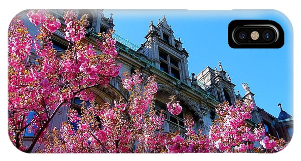Springtime On Commonwealth Avenue IPhone Case