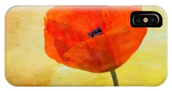 Springtime Poppy Beauty IPhone Case