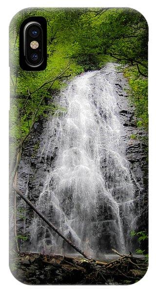 Springtime Waterfall IPhone Case