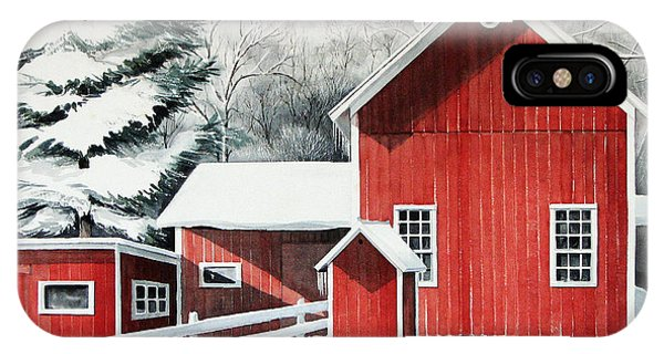 Springwater Barns IPhone Case