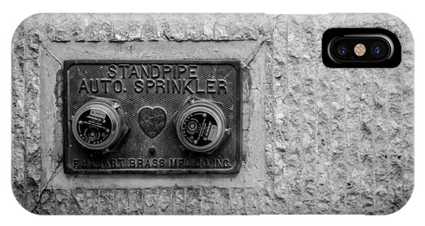 Sprinkler With A Heart IPhone Case