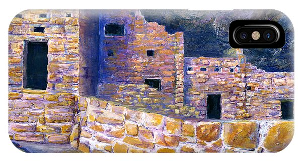 Spruce House At Mesa Verde In Colorado IPhone Case