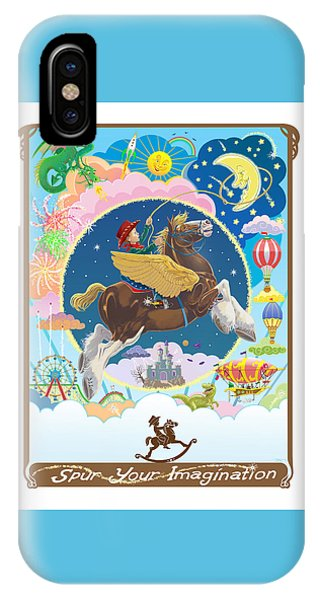 Spur Your Imagination IPhone Case