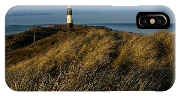 Spurn Point Lighthouse IPhone Case