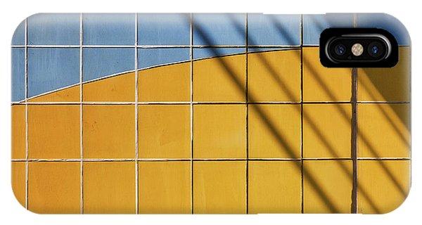 Facade iPhone Case - Square-\-shadow by Henk Van Maastricht