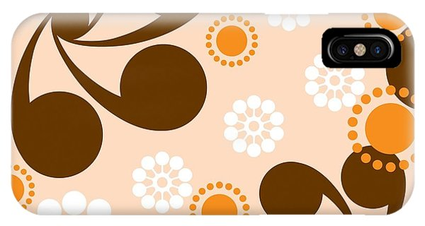 Romance iPhone Case - Square Seamless Pattern With Geometric by Prokrida