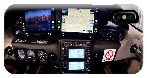 Sr22 Cockpit IPhone Case