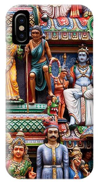 Sri Mariamman Temple 03 IPhone Case
