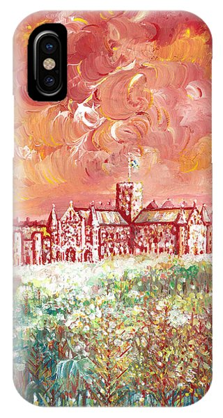 St Albans Abbey - Stormy Weather IPhone Case
