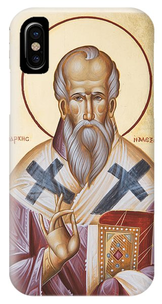 St Alexander Of Alexandria IPhone Case