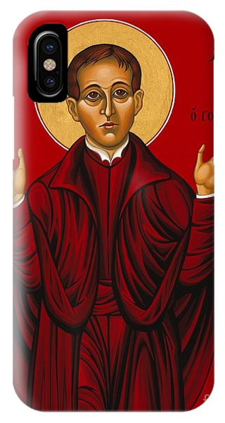 St. Aloysius In The Fire Of Prayer 020 IPhone Case