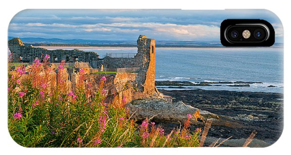 St Andrews Castle Phone Case by David Ross