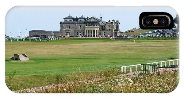 St Andrews Royal And Ancient Golf Course IPhone Case