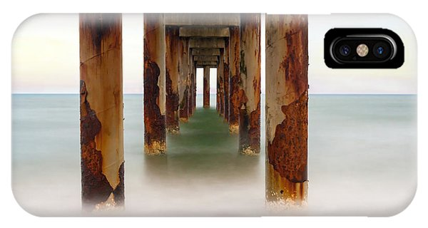 St. Augustine Beach Pier IPhone Case