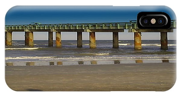 St. Augustine Pier Phone Case by Donnell Carr
