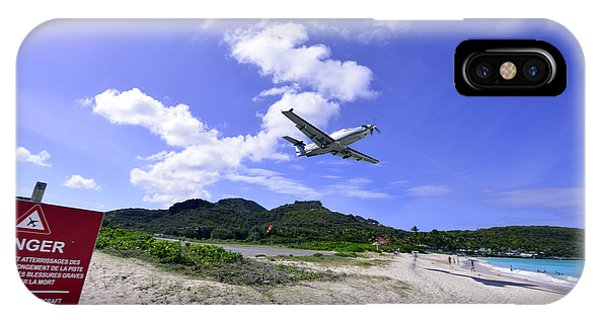 St Barts Takeoff IPhone Case