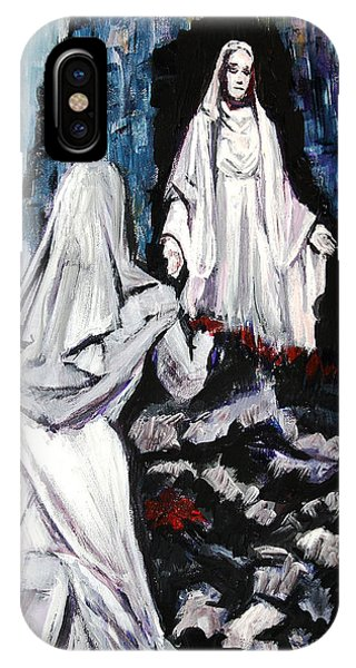St. Bernadette At The Grotto IPhone Case