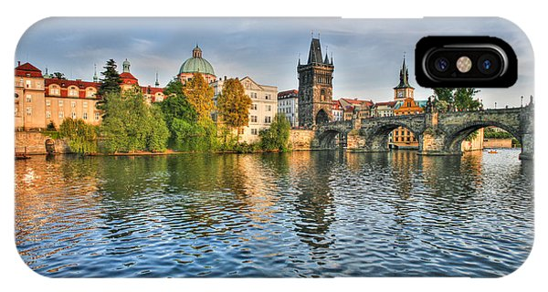St Charles Bridge Prague IPhone Case