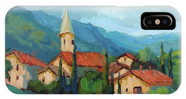 St. Colombe Provence IPhone Case