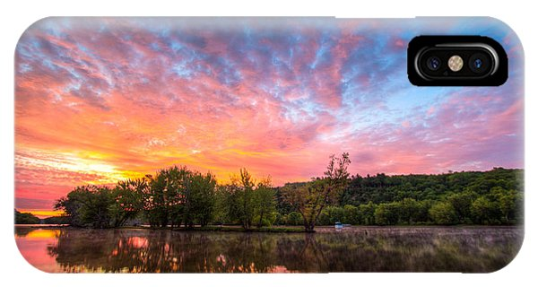 St. Croix River At Dawn IPhone Case