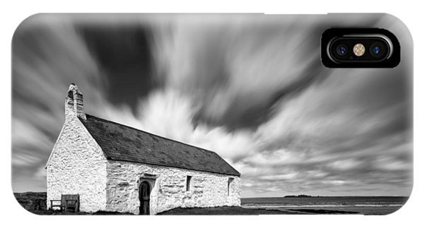 Imposing iPhone Case - St Cwyfan's Church by Dave Bowman