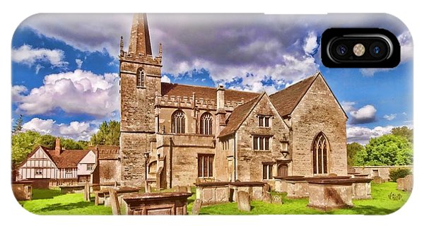 St Cyriac Church Lacock IPhone Case