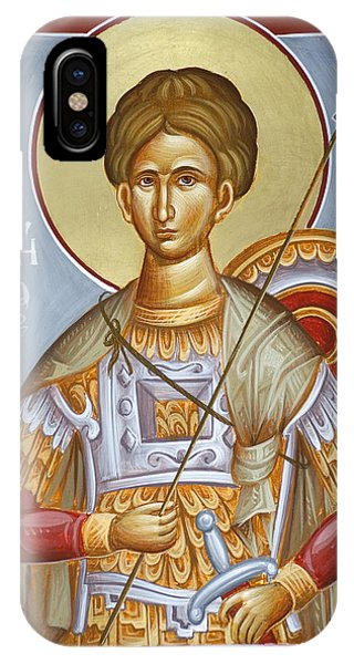 St Dimitrios The Myrrhstreamer Phone Case by Julia Bridget Hayes