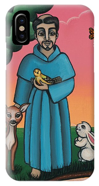 St. Francis Animal Saint IPhone Case