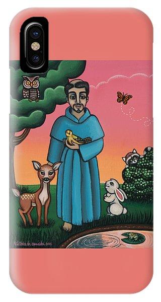 St. Francis Animal Saint IPhone Case