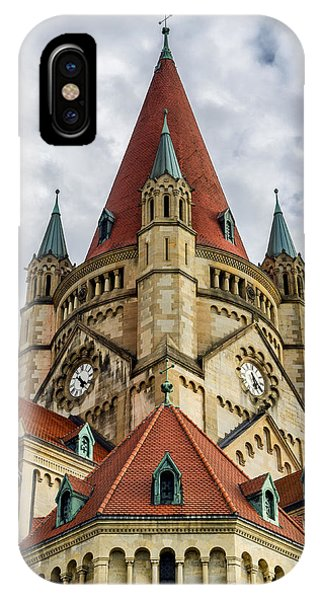 St. Francis Of Assisi Church In Vienna IPhone Case