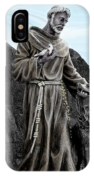 St Francis Of Assisi On Isabela In The Galapagos IPhone Case