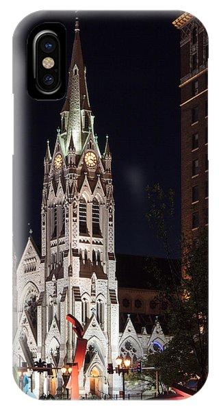 St. Francis Xavier Church IPhone Case