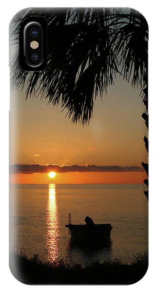 St. George Island Sunset IPhone Case