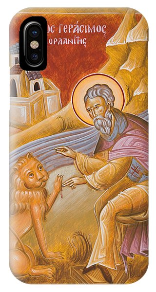 St Gerasimos Of The Jordan IPhone Case